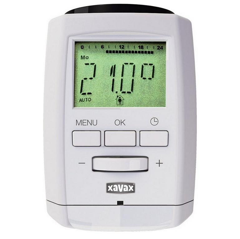 3er Set Bluetooth Heizkörperthermostate von Xavax für 24,99€ inkl. Versand