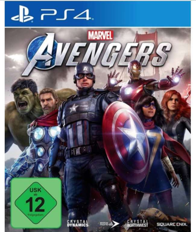Marvel's Avengers (kostenloses Upgrade auf PS5) [PlayStation 4 u. Xbox One] für 15,98€ inkl. Versand (statt 28€)