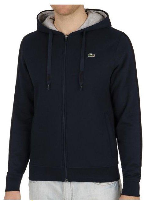 Lacoste Herren Fleece-Hoodie in zwei Farben je nur 59,85€ inkl. VSK (Statt 86€)