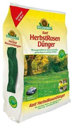 Neudorff - Azet Herbstrasendünger 5Kg für 100qm 12,99€ (Statt 17,99€)