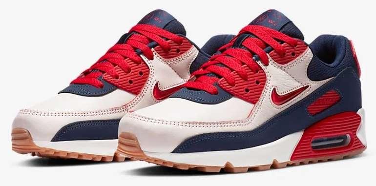 """Nike Air Max 90 Premium Herren Sneaker im """"Midnight-Navy""""-Colourway für 86,97€ (statt 118€)"""