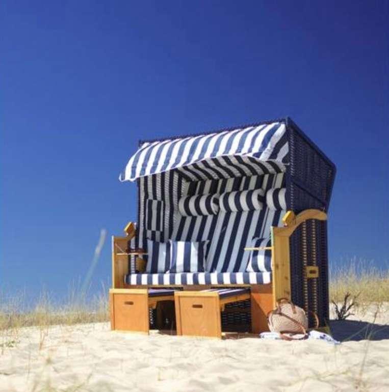 "Bessagi Garden Strandkorb ""Sissi"" + Abdeckung für 299,25€ inkl. Versand (statt 399€)"