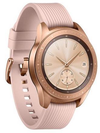 Samsung Galaxy Watch R810 rosegold 42mm für 206,91€ (statt 233€) - eBay Plus!