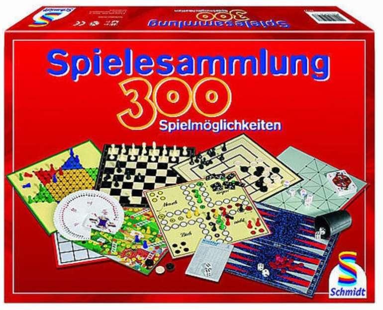 Schmidt Spiele 300er-Spielesammlung (49127) für 21,24€ inkl. Versand (statt 40€)