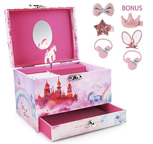 SpieluhrSchmuckkästchen von Abody mit Schublade für 14,99€ inkl. Versand (statt 26€)