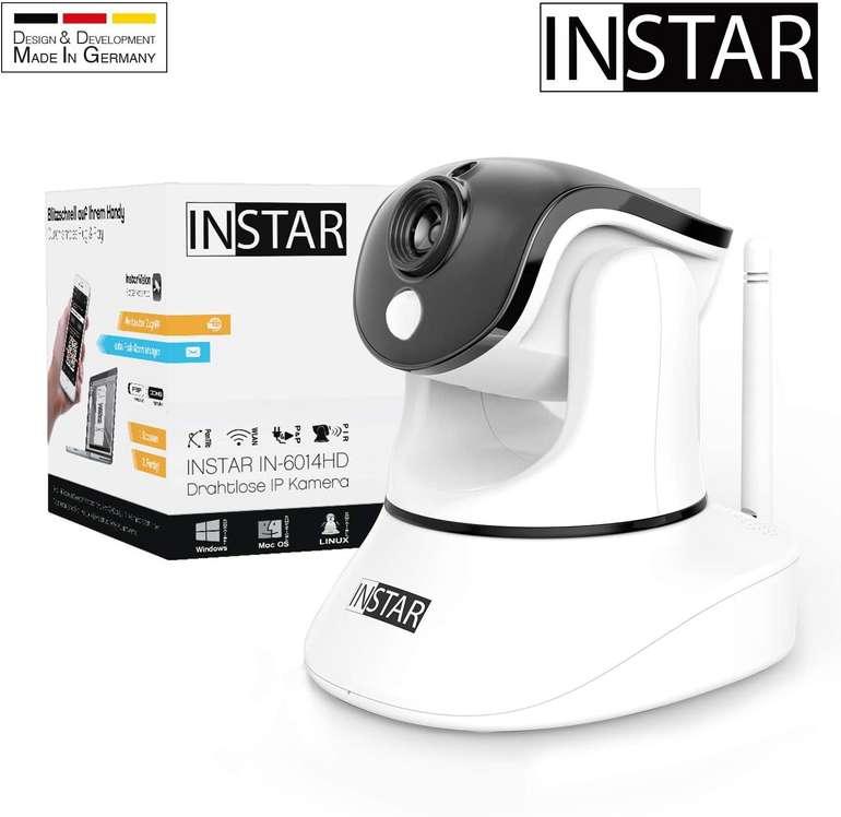Instar IN-6014HD WLAN Überwachungskamera (Nachtsicht, Bewegungserkennung) für 124,99€ inkl. Versand (statt 141€)