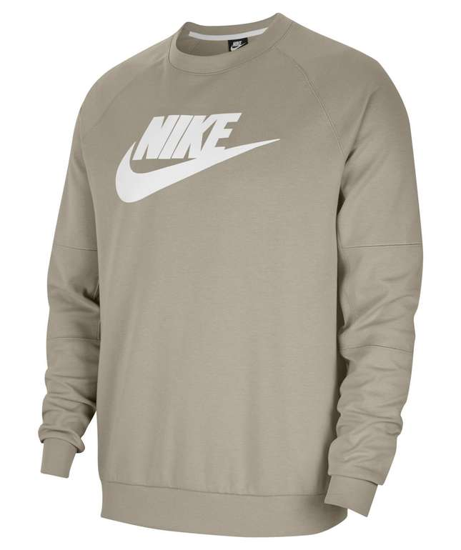 Nike Fleece Crew (CU4473) in stone white für 27,21€ inkl. Versand (statt 41€)