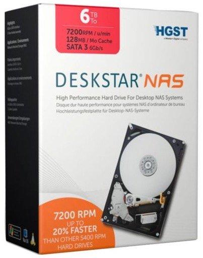HGST Deskstar 6TB interne NAS-Festplatte für 169,90€ inkl. Versand