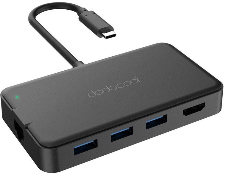 dodocool 7in1 USB-C Hub (3 USB 3.0 Ports) für 29,99€ inkl. Versand