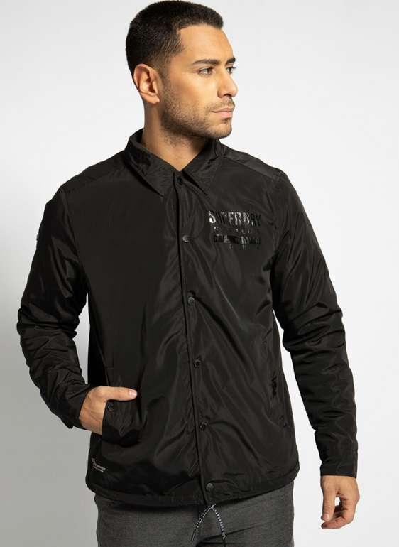 Superdry Herren Jacke in schwarz für 26,97€inkl. Versand (statt 44€) - MBW: 29,99€