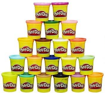 Hasbro Play-Doh Knete - Super Farbenset (20 Dosen) für 9,99€ inkl. Prime Versand