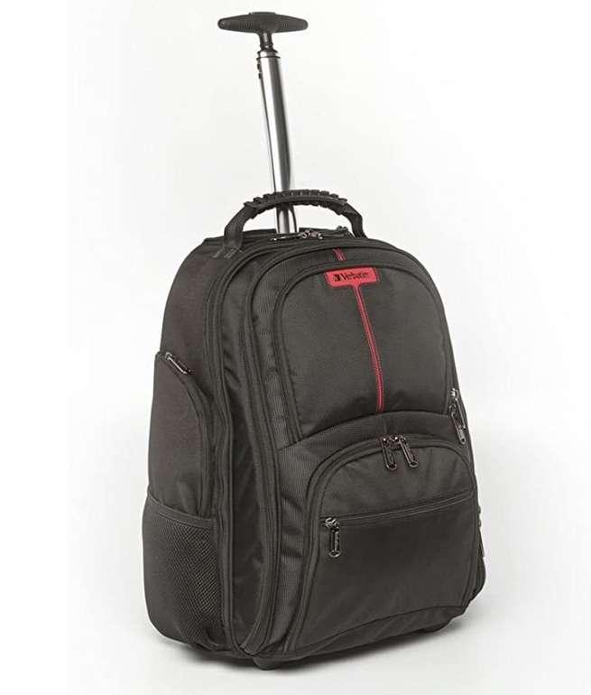 Verbatim 49852 Paris Roller Backpack für Notebooks bis 43,2 cm (17 Zoll) nur 31,18€ inkl. Versand (statt 79€)