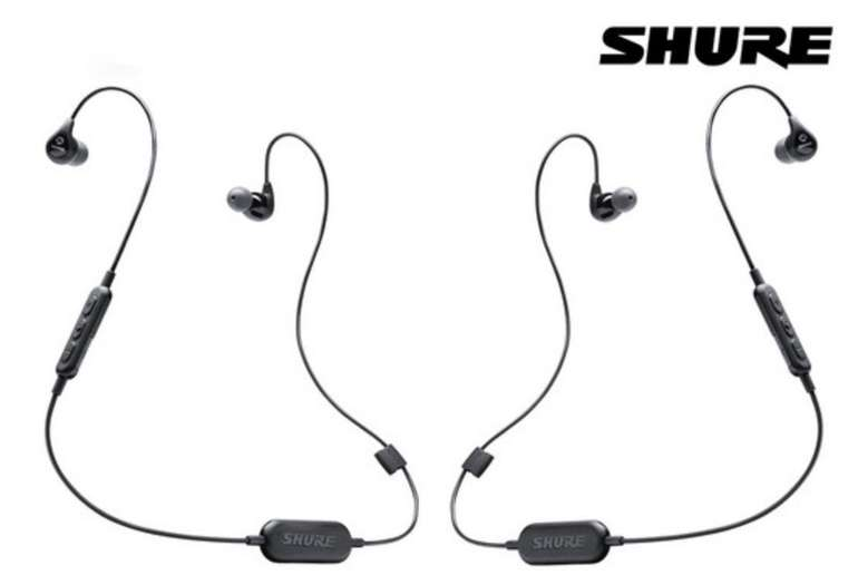 2er Pack Shure SE112 Wireless Sound Isolating Bluetooth Kopfhörer für 49,95€ (statt 92€)