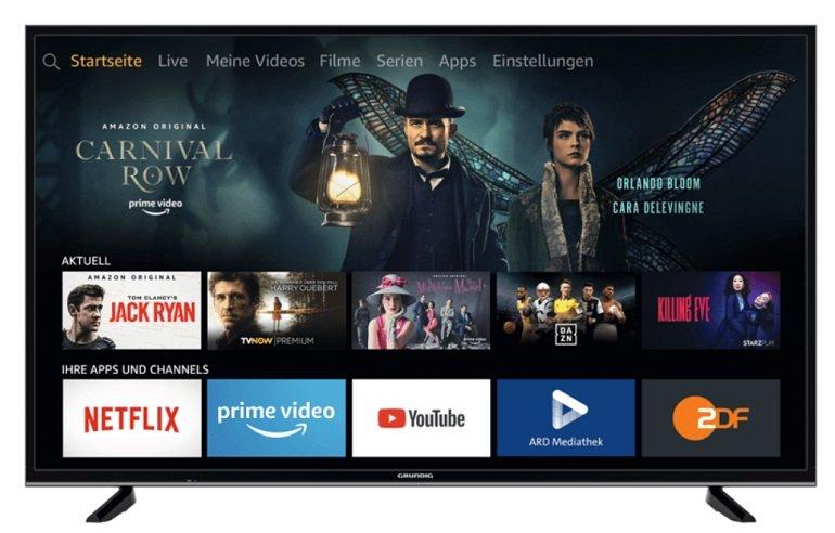 "Grundig 43GUB7062 - 43"" UHD 4K Smart TV (Fire TV Edition) für 299€ (statt 349€)"