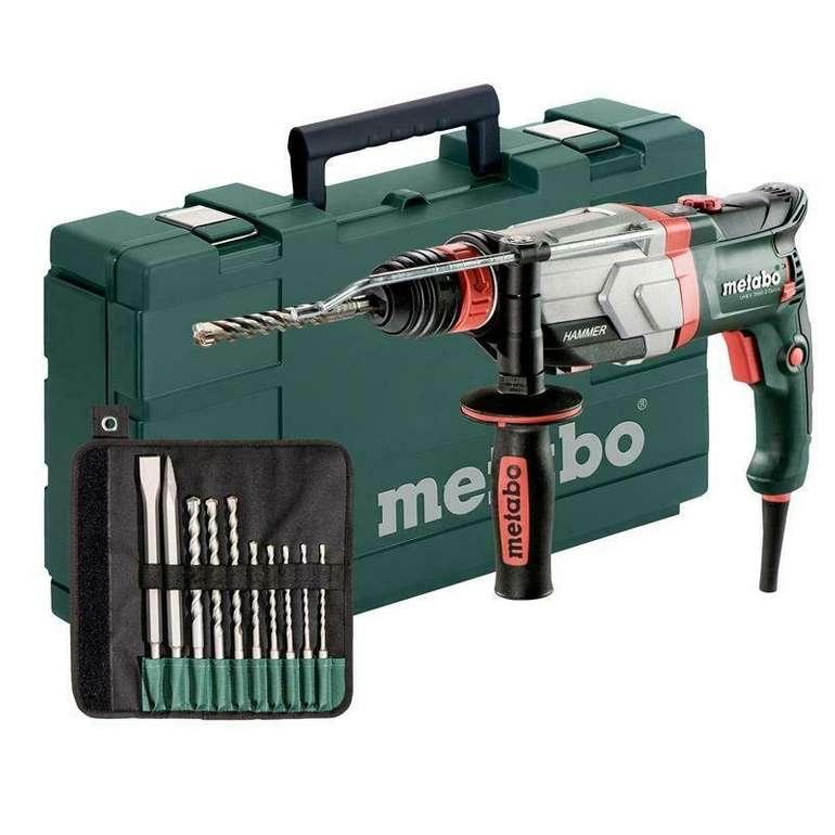 Metabo UHEV 2860-2  Elektronik-Multihammer Quick Set inkl. 10 tlg. SDS Satz für 189,90€