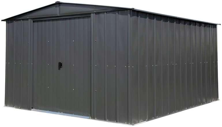 Spacemaker Metallgerätehaus 10x12 (313 x 370 cm) für 535,49€ inkl. Versand (statt 699€)