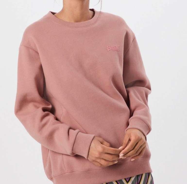 """Superdry Damen Sweatshirt """"Ol Elite Crew"""" für 34,51€ inkl. Versand (statt 47€)"""