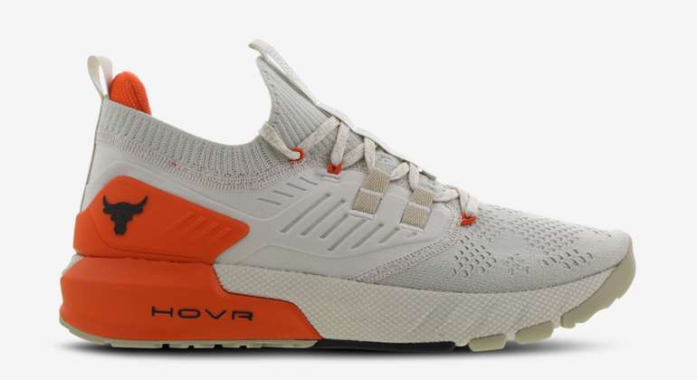 Under Armour Project Rock Herren Schuhe in Beige/Orange für 69,99€inkl. Versand (statt 120€)