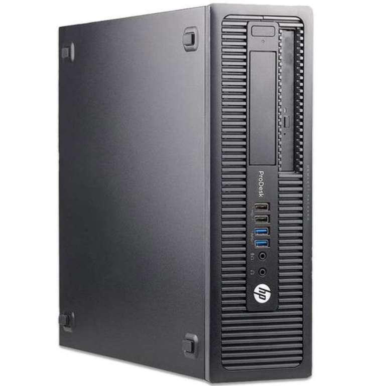 HP ProDesk 600 G1 SFF PC (i7-4770, 8GB RAM, 250GB SSD, 2x DisplayPort, DVD-RW, Win10) für 169€ - B-Ware!
