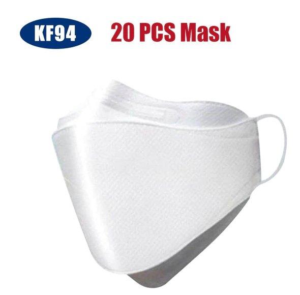 NoName KF94 Gesichtsmaske im 20er Pack für 25,28€ inkl. Versand (statt 38€)