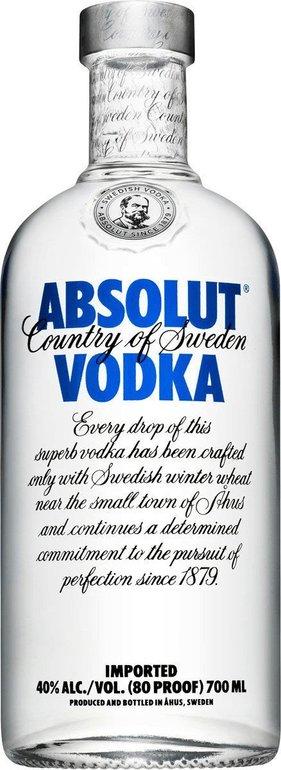3 Flaschen Absolut Vodka (0,7l) für 26,97€ inkl. Versand + Gratis Socken!