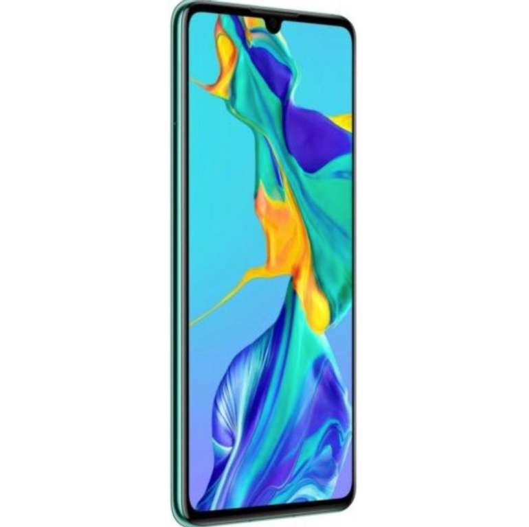 "Huawei P30 - 6,1"" Android Smartphone (6GB RAM, 128GB Speicher, Dual-Sim) in Aurora Blue für 374,90€"