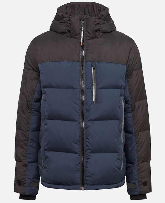 Superdry Herren Jacke 'Cortex' in dunkelblau für 57€ inkl. Versand (statt 95€)