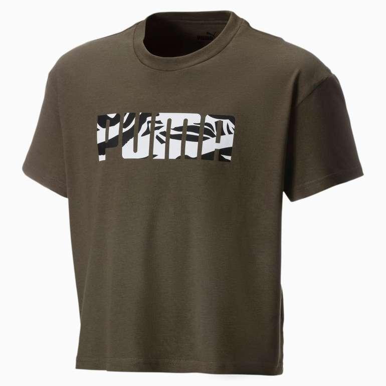 Puma Mädchen T-Shirt in 2 Farben für je 9,69€ inkl. Versand (statt 14€)