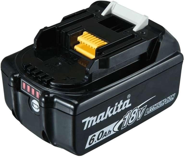 Makita BL1860B - Li-Ion-Akku mit 6.0Ah für 67,99€ inkl. Versand (statt 79€)