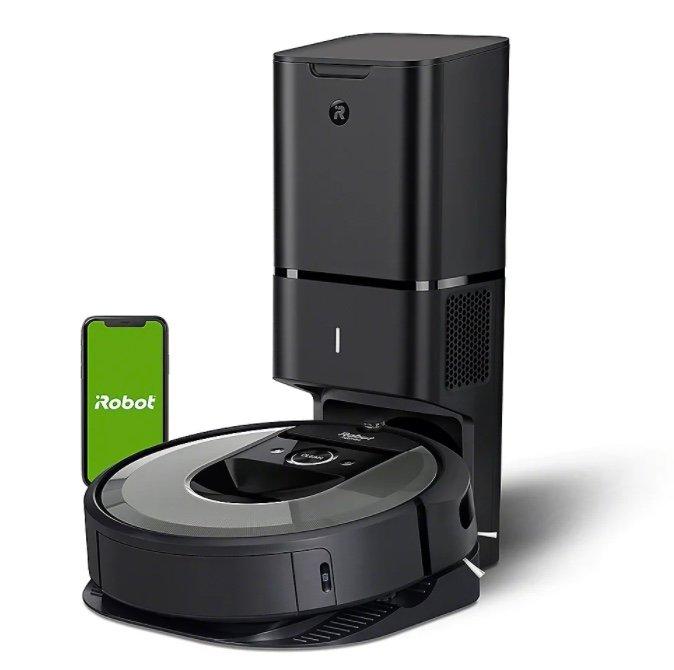 iRobot Roomba i7+ 7550 Saugroboter mit Raumkartierung und Absaugstation für 689€ (statt 799€)