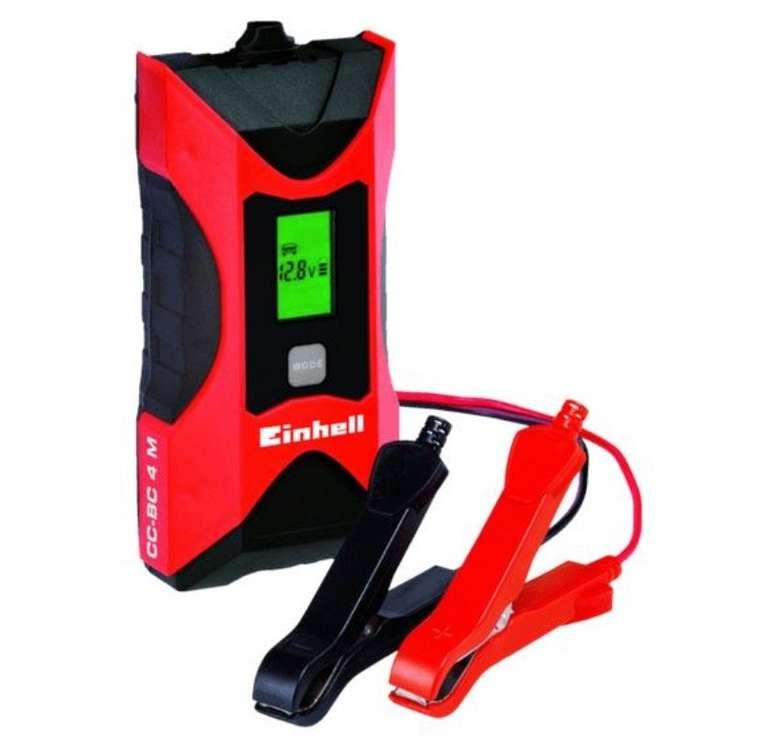 Einhell CC-BC 4 M Batterie-Ladegerät für 19€ inkl. Versand (statt 26€)