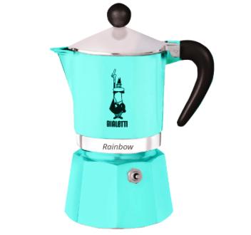 Preisfehler? Bialetti Rainbow 3 (5042) Espressokanne für 12,99€ (statt 32€)