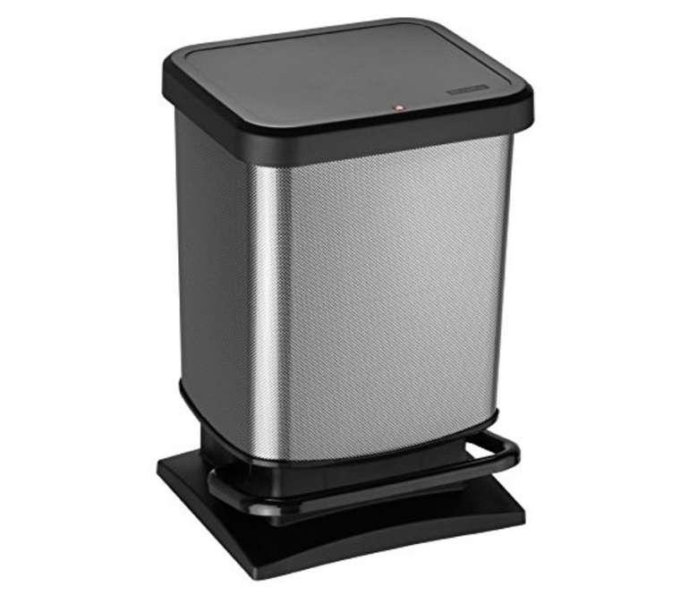 Rotho Paso - 20 Liter Treteimer in carbon metallic für 17,94€ (statt 25€)