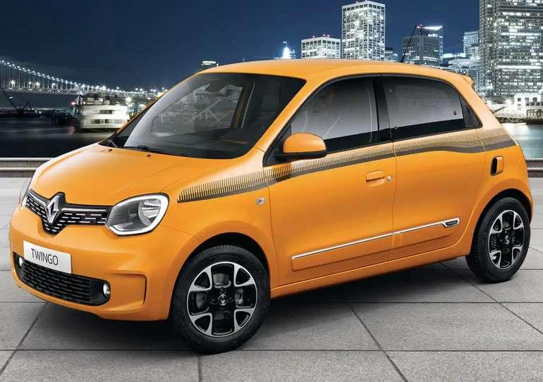 Privatleasing: Renault Twingo Neuwagen mit 73 PS für 77€mtl. (LF: 0.56, Überführung: 899€)