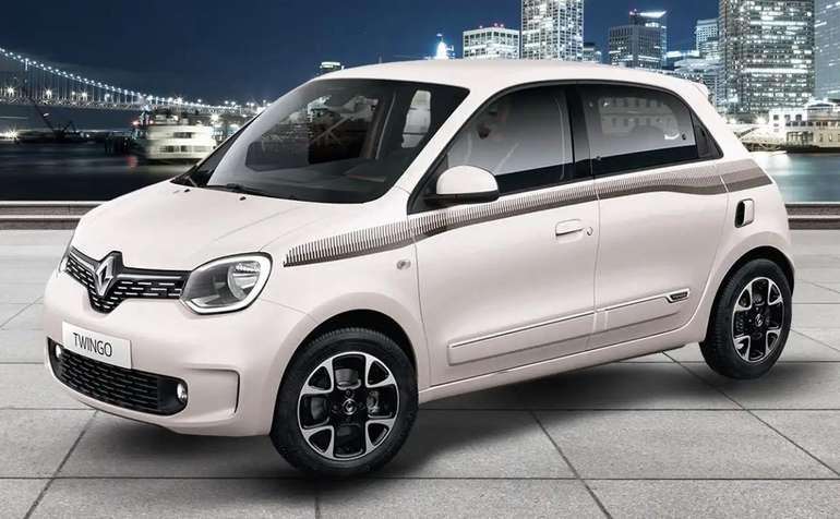 Privat- Gewerbeleasing: Renault Twingo Limited SCe 75 mit 73 PS für 49€ brutto mtl. (LF: 0,36, Bereitstellung: 799€)