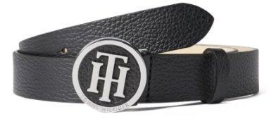 Tommy Hilfiger Frauen Ledergürtel mit Pinschließe im Logo-Design für 31,49€ inkl. Versand (statt 42€)