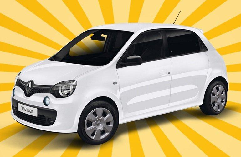 Renault Twingo Limited SCe 75 Start&Stopp für 12 Monate mit 10.000km für 49€ mtl. im Gewerbeleasing