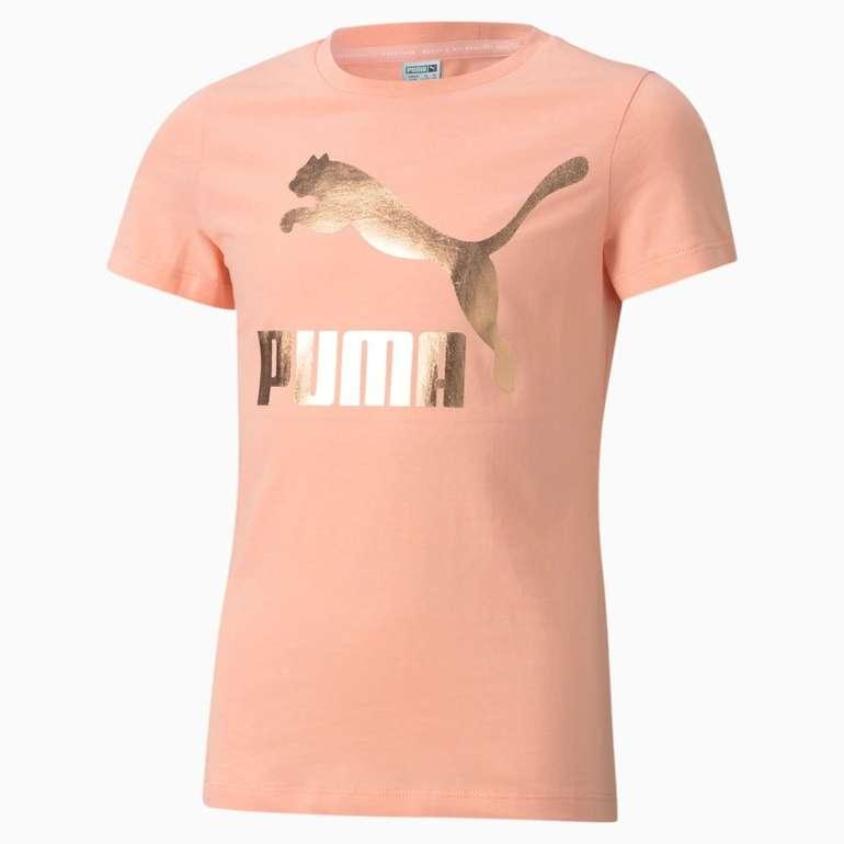 Puma Classics Logo Jugend T-Shirt in 2 Farben für je 11,16€ inkl. Versand (statt 14€)