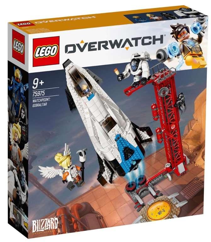 Lego Overwatch - Watchpoint: Gibraltar (75975) für 44,99€ inkl. Versand (statt 67€)