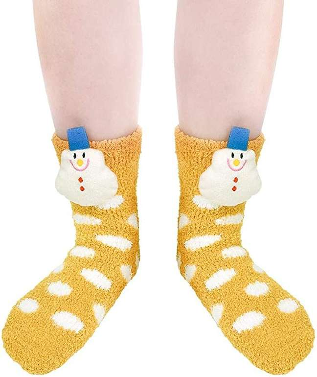 Vbiger rutschfeste Winter Socken für 3,45€ inkl. Prime Versand (statt 8€)