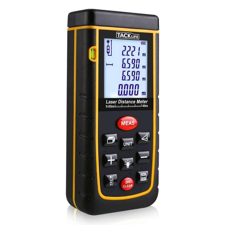 Tacklife A-LDM01 40 Laser-Entfernungsmesser für 21,99€ inkl. Versand