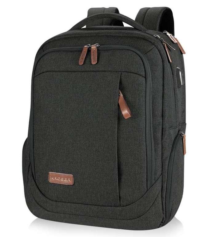 """Kroser Laptop Rucksack mit USB-Ladeanschluss für 17,3"""" Notebooks nur 22,09€"""