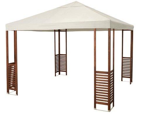 Äpplarö Pavillon (3 x 3 Meter, UPF 50+) schon ab 214€ (statt 299€)