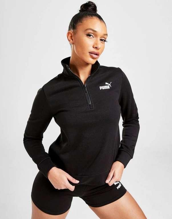 Puma Core Fleece 1/4 Zip Damen Sweatshirt für 25,99€ inkl. Versand (statt 39€)