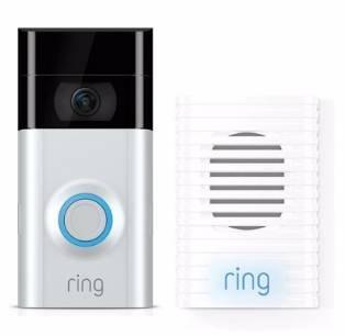 Ring Video Doorbell 2 WLAN-Türklingel + Chime Türgong für 174€ inkl. Versand