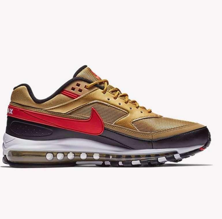 Nike Air Max 97 BW Herren Sneaker in gold für 86,38€ inkl. Versand (statt 100€)
