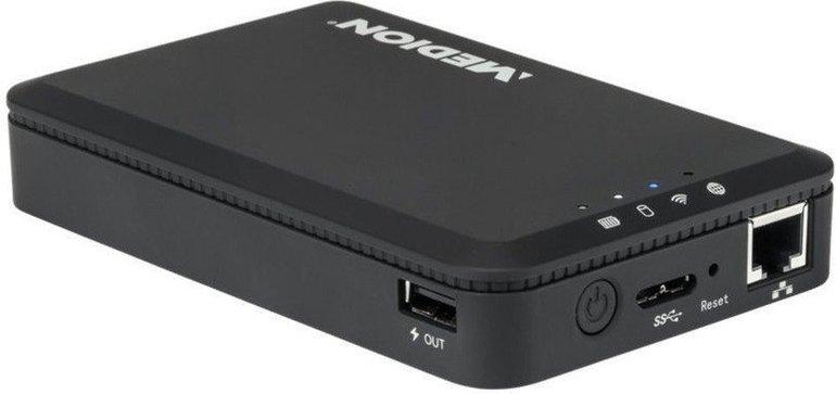 1TB Medion WLAN-Festplatte (LIFES88411MD 92511) für 79,99€ inkl. Versand