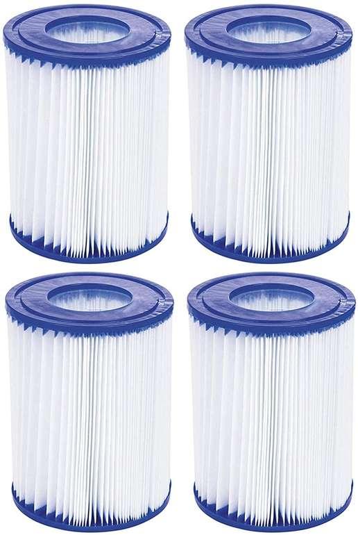 KKmoon 4er Pack Filterkartuschen (für Intex Typ A) für 16,13€ inkl. Versand (statt 25€)