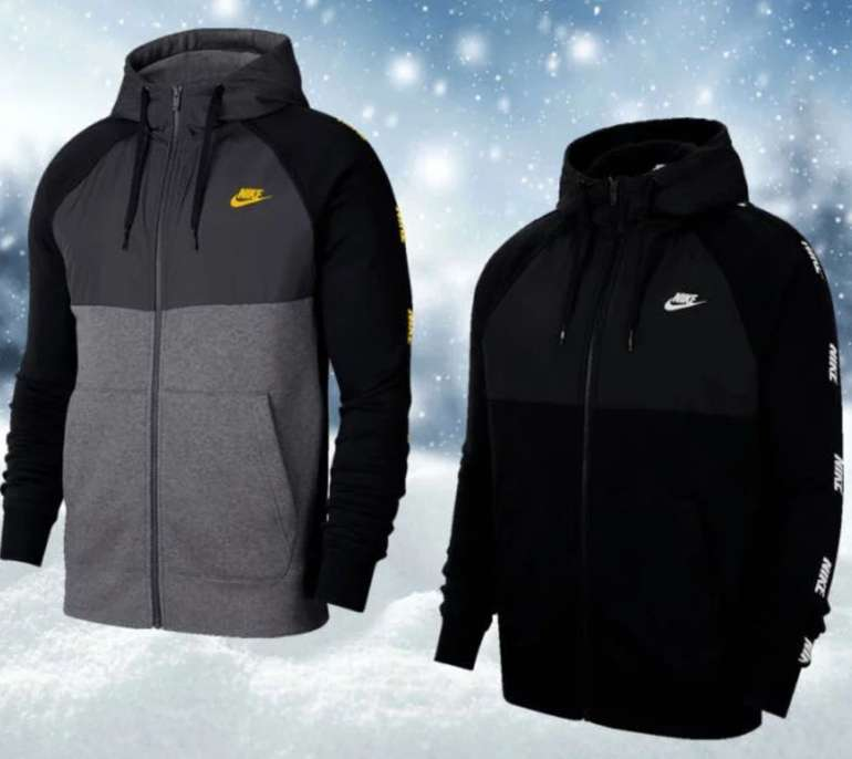 Nike Kapuzenjacke Hybrid BB Hoody (versch. Farben) für je 46,95€ inkl. Versand (statt 68€)