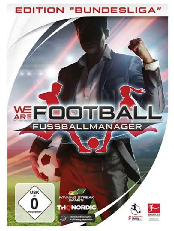 We Are Football Edition Bundesliga für den PC für 9,99€(statt 18€) - Abholung